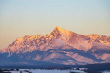 Krivan Mountain During Sunset ...