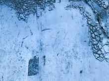 Texture In Blue. Bright, Matte...