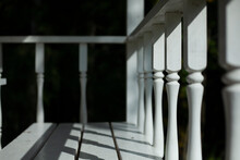 Balusters On The Veranda. The ...