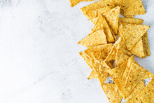 Corn Chips In A White Bowl