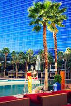 Poolside In Las Vegas Hotel