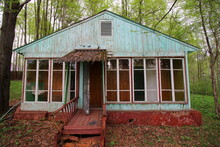 Abandoned Children's Camp Buil...