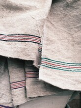 Cotton And Linen Cloth Woven T...