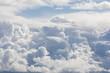canvas print picture - Wolken