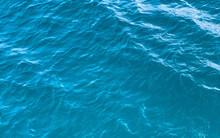 Aquamarine Blue Water Surface ...