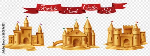 Photo Sand Castle Transparent Set