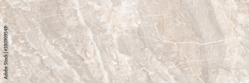 Fototapeta Polished light pink marble. Real natural marble stone texture and surface background. obraz