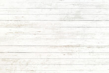 White Old Wood Background, Abs...