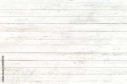 Fototapeta white old wood background, abstract wooden texture obraz