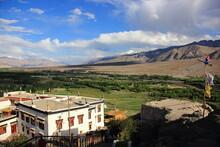 Monasteries And Stupas In Leh,...