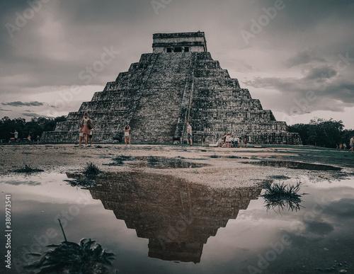 Foto chichen itza pyramid
