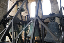 Bells Of The Church Of San Fortunato In Todi Italy