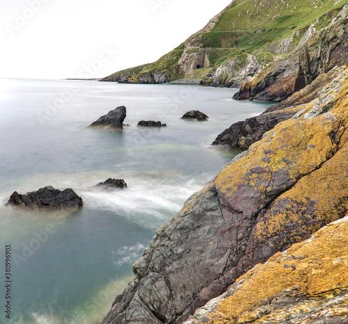 Obraz na plátně Bray to Greystones Cliff Walk
