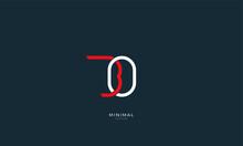 Alphabet Letter Icon Logo BO