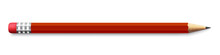 Realistic Red Pencil Sharpened...