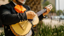 Mariachi In The Streets Of Mex...