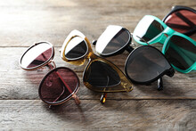 Many Different Stylish Sunglas...