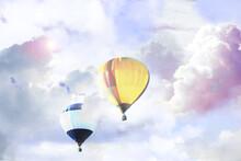 Fantastic Dreams. Hot Air Ball...