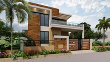 3d Render Of A Individual House