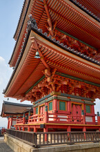 The Three-storied Pagoda On Th...