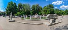 Fountain Of Life In Zaporozhye...