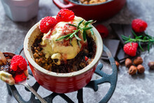 Pear Crumble Dessert