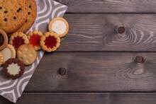 Shortbread Cookies With Variou...