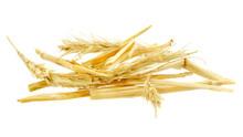 Heap Of Golden, Yellow Straw I...