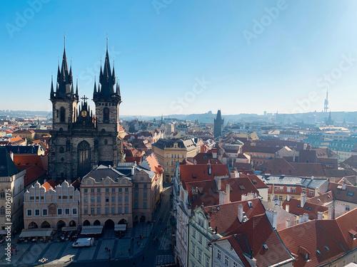 Foto プラハの景色