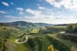 canvas print picture - Texaspass - Passhöhe im Kaiserstuhl zwischen Oberbergen und Kiechlinsbergen - Aussichtspunkt mit Blick auf Totenkopf / Baden-Württemberg / Deutschland