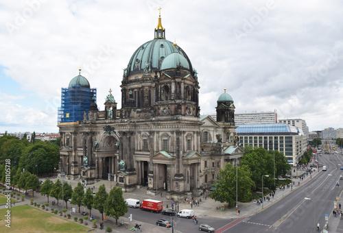Berliner Dom Fotobehang