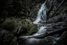 Mountain Brook Waterfall Time ...