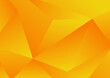 Abstract yellow geometric low polygon background and texture