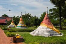 Three Pagodas Or Chedi Sam Ong...