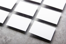 Blank Business Card Mockups Is...