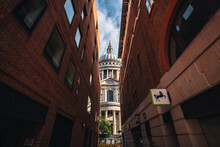The Side View Of The St Paul's...