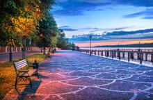 A Pier On The Volga Embankment...