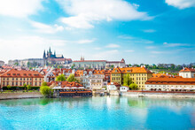 View Of The Prague Castle And ...