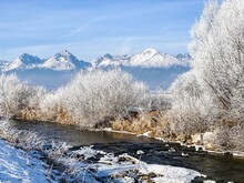 Winter Landscape With River, F...