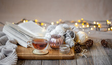 Cozy Still Life With Tea And D...