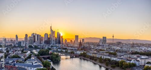 Fototapeta Frankfurt view-1