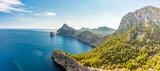 Fototapeta Kawa jest smaczna - Cape Formentor area, coast of Mallorca, Spain
