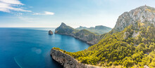 Cape Formentor Area, Coast Of ...