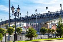 View Of The Patriarchal Pedestrian Bridge