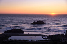 Sunset At The Historical Landm...