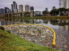 View Of The Polluted Pinheiros...