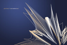 Modern Abstract Background Wit...
