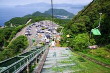 福井県の三方五湖の観...