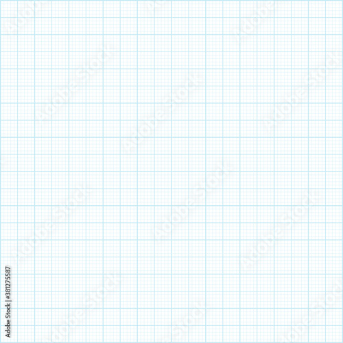 Fotografiet Graph paper background