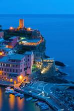Idyllic Landscape Of Vernazza,...